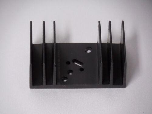 Dissipateur Aluminium Noir Anodisé 65x37 5x27mm