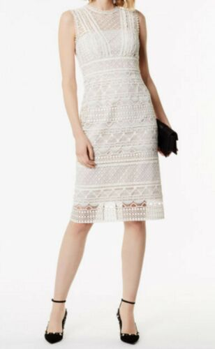 U Panelled Tags With Karen Millen 12 Dress Brand New k Lace Ivory nqSCCwI