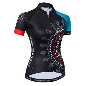 Women-039-s-Cycling-Jersey-Clothing-Bicycle-Sportswear-Short-Sleeve-Bike-Shirt-F31