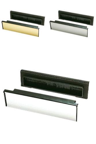 PVC manches en bois Brosse Scellé Télescopique Boite Lettre Postal Plaque Couvercle tidy