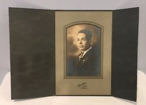 Antique-Photo-In-Cabinet-Card-From-Early-1900-039-s-Rare-Excellent-Condition-10of14