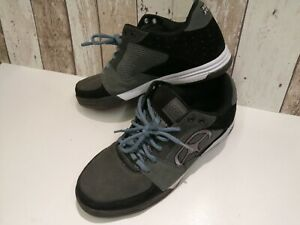 No-Fear-Trainers-Mens-UK-8-worn-only-a-few-times-VGC-suede-black-grey-blue