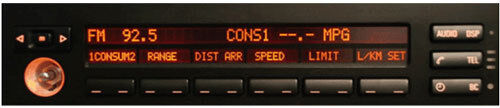 BMW E39 525 525i RADIO STEREO DISPLAY MID OBC LCD Screen Display Pixel REPAIR