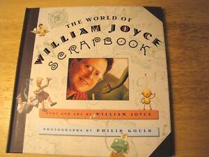 The-World-of-William-Joyce-Scrapbook-by-William-Joyce-1997-Hardcover-Graphic-Art