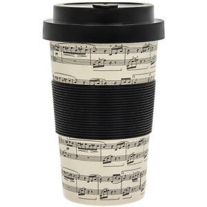 Confectionner-Musique-Musical-Reutilisable-Bambou-Fibre-Tasse-Eco-Voyage-Cafe