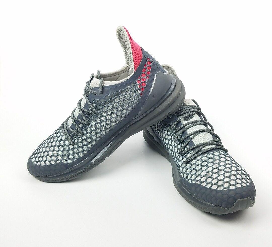 Puma Ignite Limitless Netfit Staple gris Textil Con Cordones Para hombre Zapatos