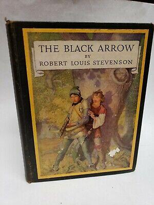 1922 The Black Arrow Robert Louis Stevenson Ilustrated by