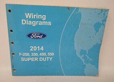 OEM 2014 Ford F-250, 350, 450, 550, Super Duty Wiring ...