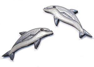 Mosaiksteine links schwimmend Delphin Version:8 Varianten: nach rechts o