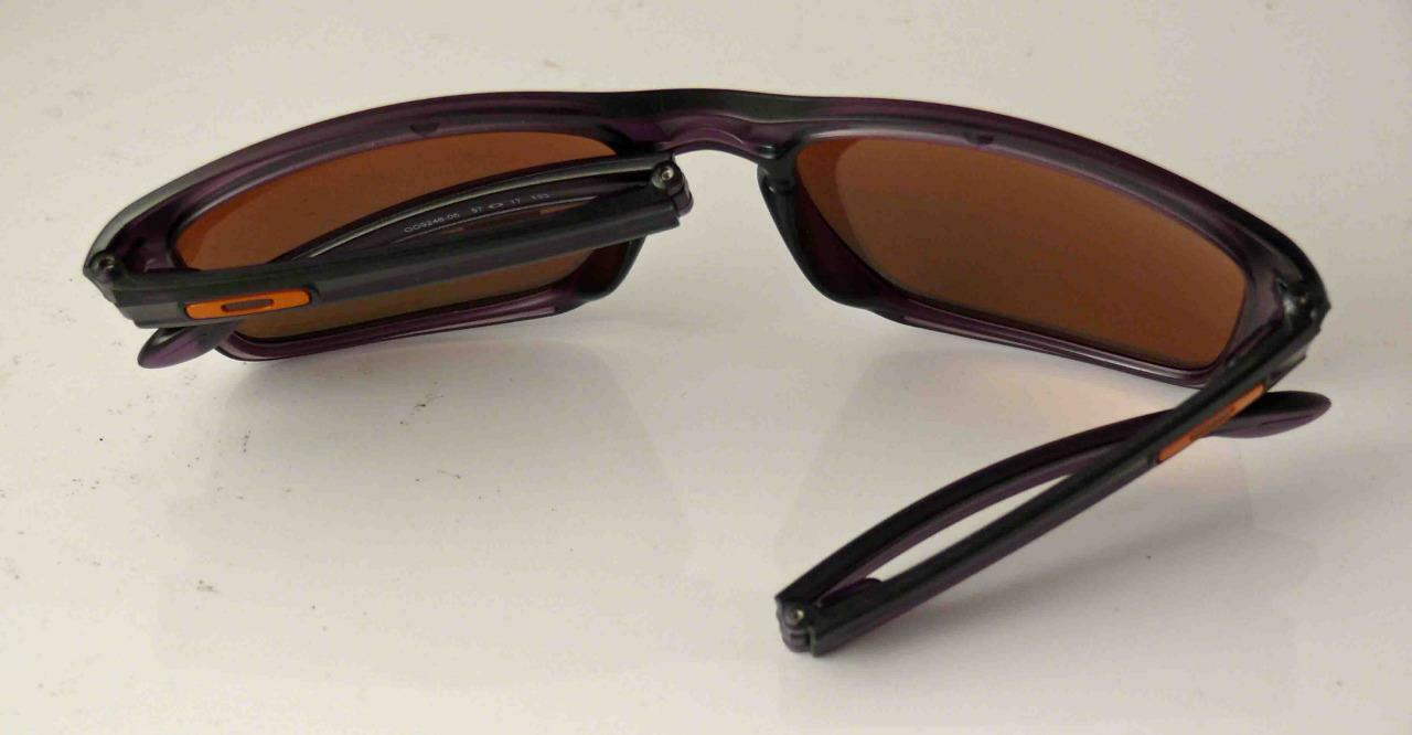 baa9827a97 Oakley Sliver F Folding Polarized Sunglasses Matte Olive Fire Iridium Metal  Case