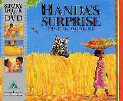 1 of 1 - Handa's Surprise Eileen Browne paperback Book & DVD RRP £7.99