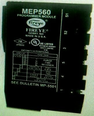 MEP560 Fireye Programmer Set Recycle//Non-Recycle Function