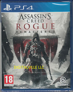 Assassin S Creed Rogue Remastered Ps4 Sony Playstation 4 New