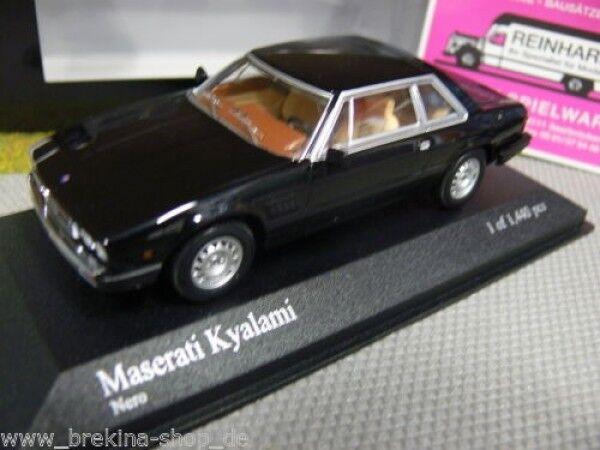 1 43 43 43 Minichamps Maserati Kyalami 1982 noir 9403a7