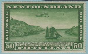 NEWFOUNDLAND-C7-MINT-HINGED-OG-NO-FAULTS-EXCELLENT
