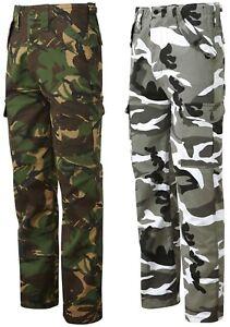 Homme Pantalon De Combat Pantalon Cargo Camouflage Pantalon Kaki Camouflage Pantalon NOUVEAU