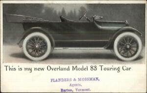 Auto-Adv-Overland-Model-83-Touring-Car-Flanders-amp-Mossman-Barton-VT-Agents-PC