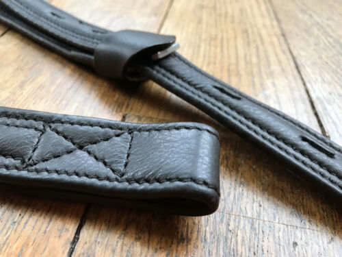 Easytrek Stirrup Leathers T Bar Dressage Close Contact Black or Brown Leather