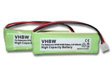 2St. original vhbw® AKKU für SVISSVOICE MEDION GP1010 GP HC05RN01