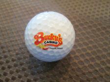 LOGO GOLF BALL-BUCKY'S CASINO-YAVAPAI CASINO....PRESCOTT, ARIZONA..