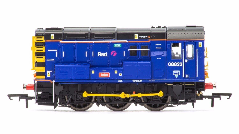 Hornby r3343 fgw First West clase 08 0 - 6 - 0 diesel Vehicle 08822 bnib