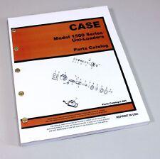 Case 1526 1530 1537 1500 Series Uni Loader Parts Manual Catalog Skid Steer