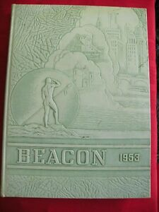 Details About 1953 Grover Cleveland High School Yearbook The Beacon St Louis Missouri Mo