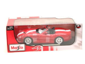 Maisto-Shelby-Serie-1-Rouge-1-18-Voiture-Miniature