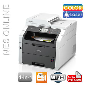 Brother Mfc 9340cdw All In 1 Wireless Color Laser Printer