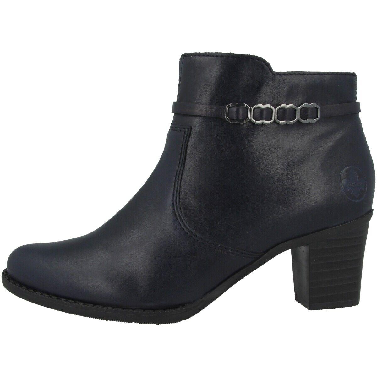 Rieker Vicente Schuhe Antistress Damen Stiefeletten Ankle Stiefel Stiefel L7678-14