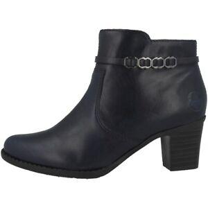 Stiefeletten Ankle 14 Rieker Stiefel EuFarbe Schuhe blau