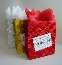Boyfriend Valentines Day Survival Kit Funny Novelty Gift Idea
