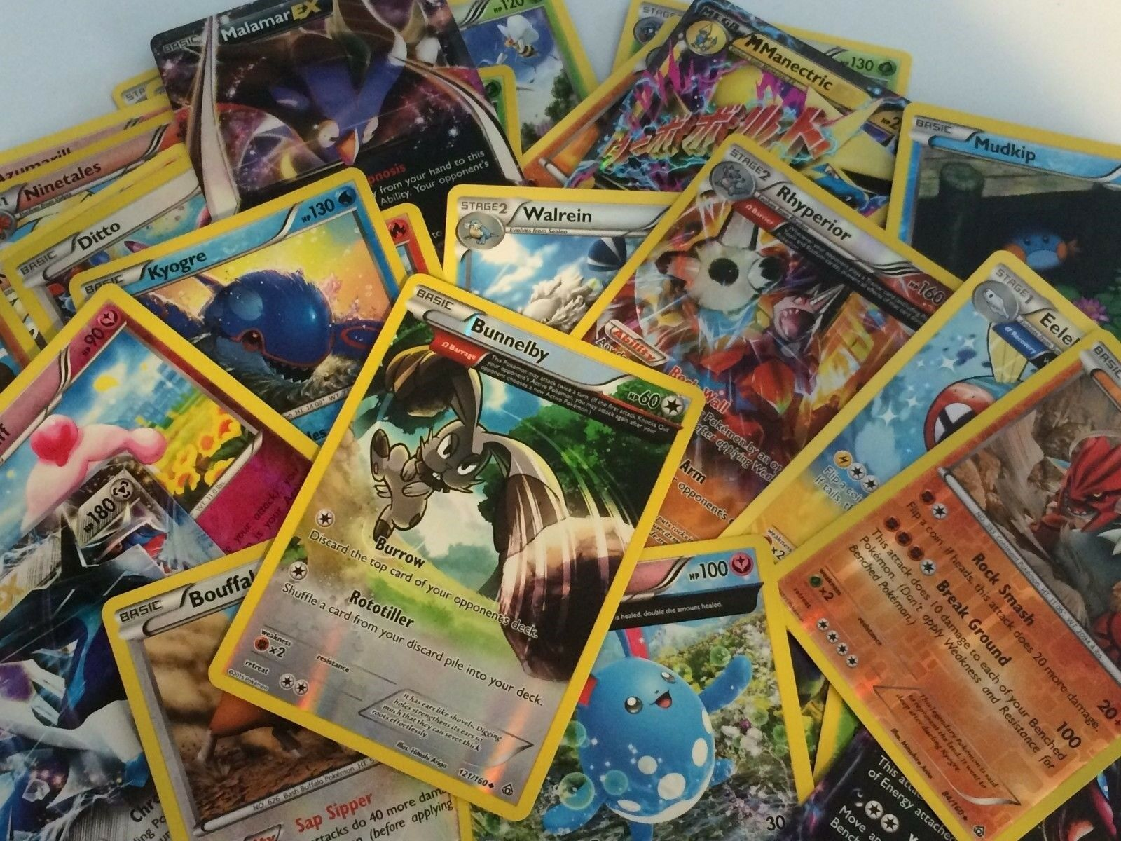 Uncommon,rare,holo Lot Collection Bulk Commons 10 RANDOM Pokemon TCG Cards
