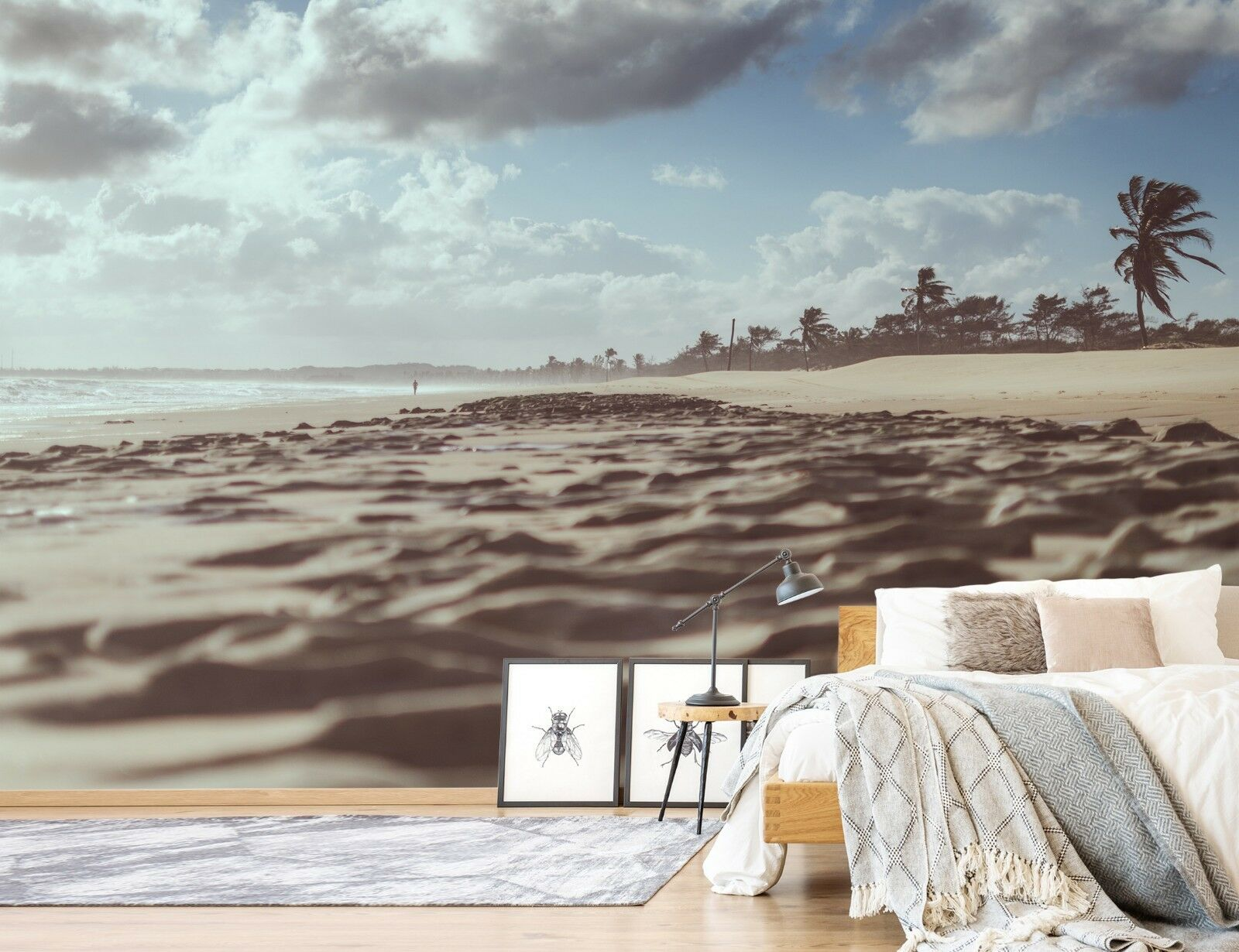 3D Beach Coco 7086 Wallpaper Mural Paper Wall Print Indoor Murals CA Summer