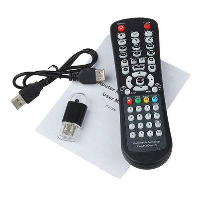 USB Wireless Media Desktop PC Remote Control Controller For XP Vista 7 Perfect