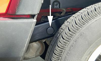 Jeep Wrangler TJ Frame Hole Cover Plugs keep out mud for all 1997 through 2006 Models