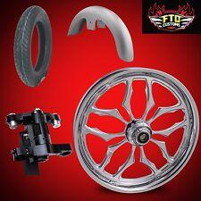 "Harley 26 inch Big Wheel Builders Kit, Wheel, Tire, Neck, & Fender  ""Thrasher"""