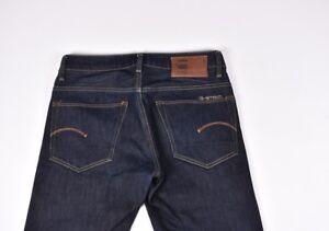 G-Star 3301 Bas Conique Hommes Jean Taille Compatible Avec 32/30