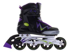 Rollers en ligne Vivo Viera PW-150AY Noir-Violet