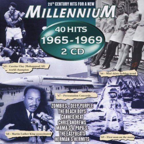 Millennium 1965-1969 (40 Hits) | 2 CD | Beach Boys, Mama's & Papa's, Flowerpo...