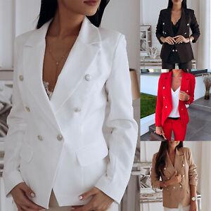 Women-Long-Sleeve-Slim-Blazer-Suit-Coat-Office-Business-Jacket-Formal-Outwear-OL