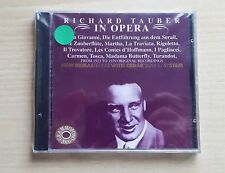 RICHARD TAUBER IN OPERA - OPERA ARIAS - CD SIGILLATO (SEALED)
