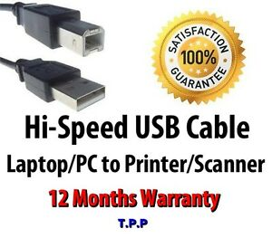 Hi-Speed-USB-Cable-Lead-For-Connecting-Printer-Scanner-to-Laptop-Notebook-PC