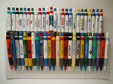 < 20  Kugelschreiber/ Bigpens/ BIGPEN: WEISS + BUNT gemischt a. Samml +Werb