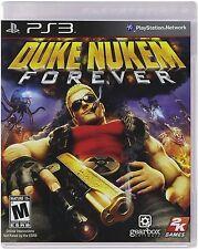 NEW SEALED PS3 Duke Nukem Forever Video Game Risque Mature Humor Alien Shooter