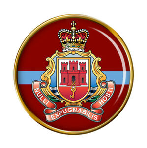 Royal-Gibraltar-Regiment-Armee-Britannique-Broche-Badge
