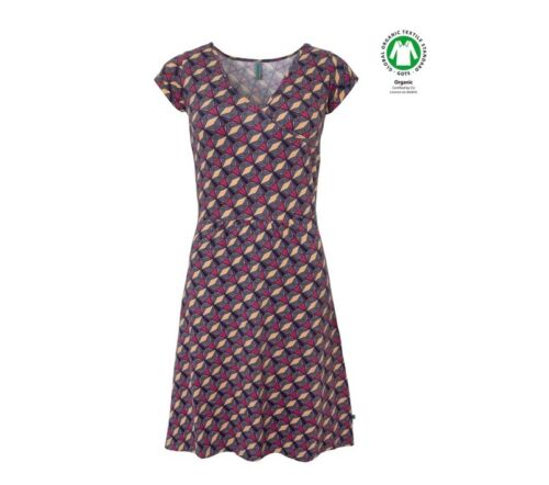 Baumwolle organic cotton Tranquillo Kleid rot rosa dress organisch