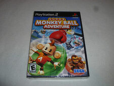 BRAND NEW FACTORY SEALED PLAYSTATION 2 GAME SUPER MONKEY BALL ADVENTURE PS2 NFS
