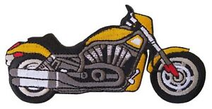 Patche-ecusson-Moto-roadster-motard-bike-thermocollant-patch-brode