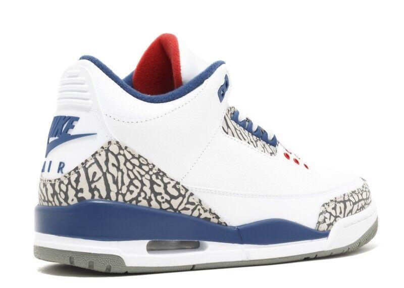 Nike Air Jordan 3 True Blue OG Retro Men's Price reduction Great discount